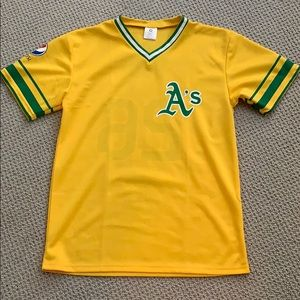 Other - Oakland A's throwback baseball jersey